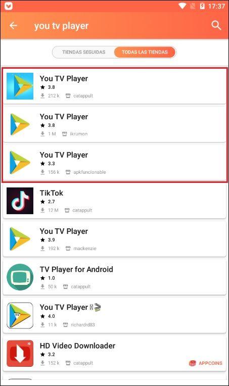 youtvplayer-aptoide-instalacion