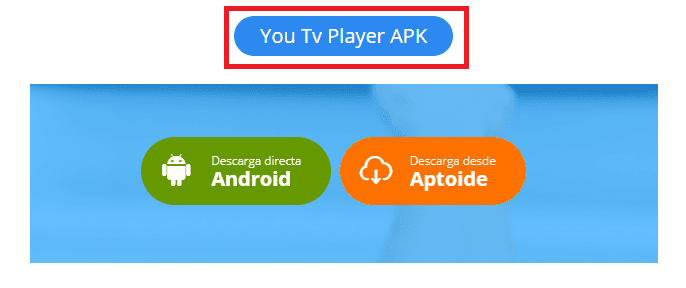 descargar You Tv Player APK en español para android